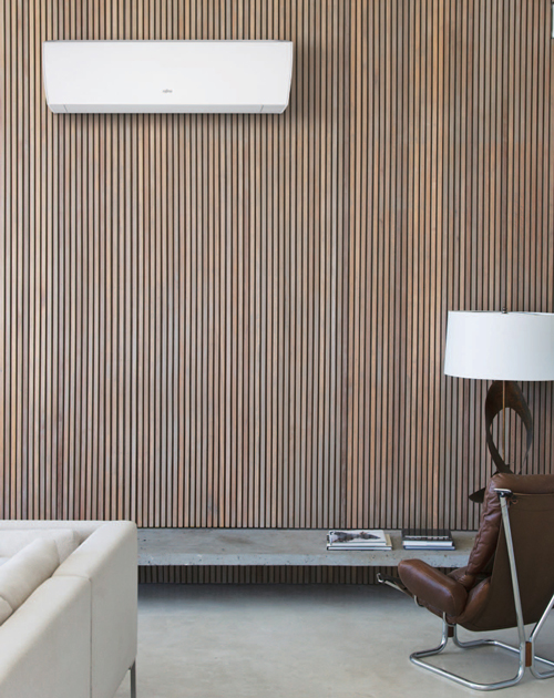 En luft-värmepump passar i det moderna hemmet.